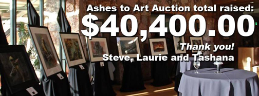 Ashes to Art Thank You!